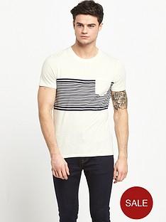 selected-selected-stripe-tee