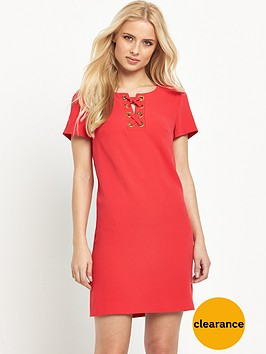 v-by-very-lace-up-front-eyelet-tunic