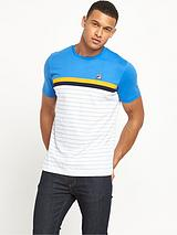 Fila Printed Comber Striped T-Shirt