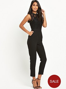 v-by-very-laddernbspdetailed-lace-slim-leg-jumpsuit