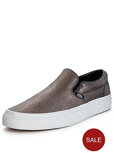vans-vans-039classic-slip-on-crackled-metallic