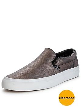vans-vans-039classic-slip-on-crackled-metallic