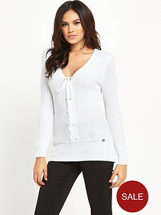 lipsy-lace-up-front-jumper