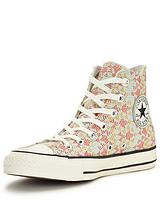 Chuck Taylor All Star Raffia Weave Hi-top Plimsoll