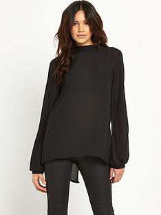 vila-talent-high-neck-long-sleeved-top