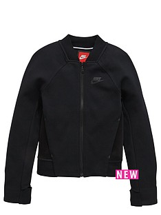 nike-nike-older-girls-tech-fleece-jacket