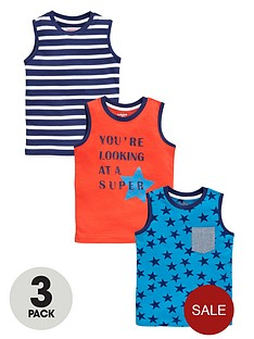 ladybird-boys-star-and-stripe-tank-tops-3-pack