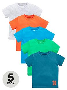 ladybird-boys-summer-brightsnbspt-shirts-5-pack