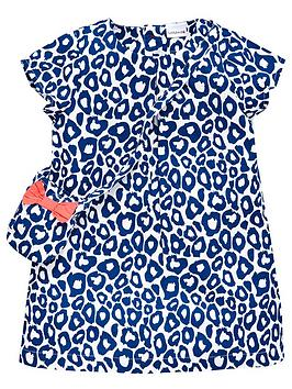 ladybird-girls-animal-shift-dress-and-bag-set-2-piece