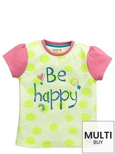 ladybird-girls-be-happy-slogan-t-shirt