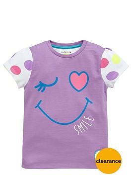 ladybird-girls-smile-spotty-t-shirt