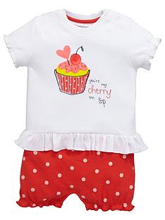 ladybird-baby-girls-cupcake-mock-short-romper-set-2-piece