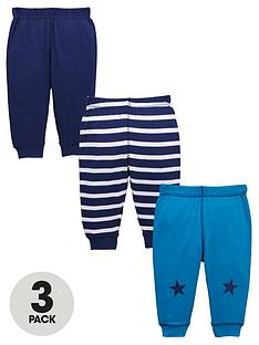 ladybird-baby-boys-star-and-stripe-joggers-3-pack