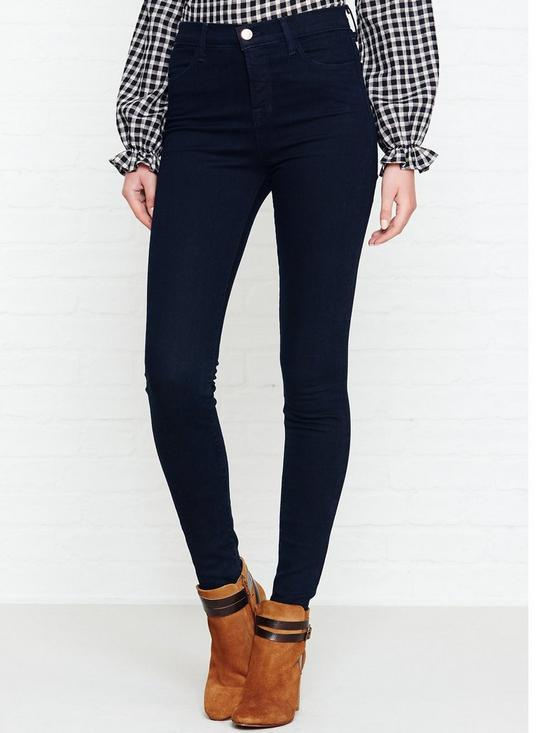 6ba69633b08a J BRAND Maria Photo Ready High Rise Skinny Jeans - Bluebird | very.co.uk