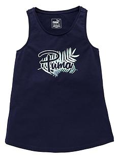 puma-puma-older-girls-logo-vest-top