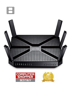tp-link-ac-3200mbps-tri-band-wi-fi-amp-gigabit-gaming-and-home-router
