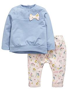 ladybird-baby-girls-floral-sweater-and-joggers-set-2-piece