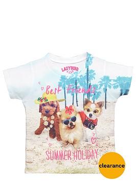 ladybird-girls-photographic-cute-puppies-tee