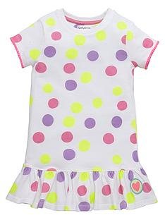 ladybird-girls-spotty-skater-dress