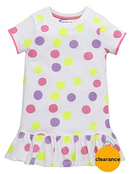 ladybird-girls-spotty-skater-dress