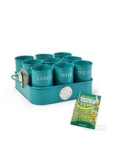thompson-morgan-burgon-amp-ball-sea-green-gardeners-gubbins-pots-with-free-gardening-tips-book