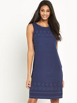 v-by-very-linen-mix-dress