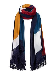 colour-block-tassel-trim-scarf