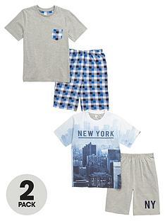 v-by-very-boys-new-york-city-shortynbsppyjamas-2-pack