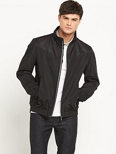 boss-green-mesh-lined-mens-bomber-jacket