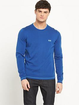 boss-green-knitted-mens-jumper-ndash-true-blue