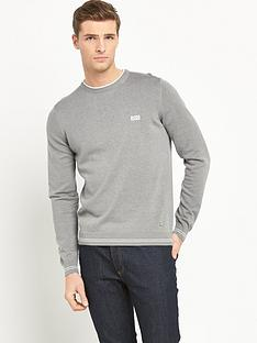 boss-green-crew-neck-knitted-jumper