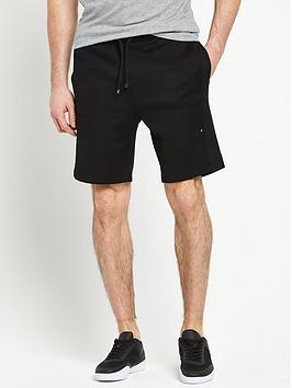 boss-green-sweat-shorts