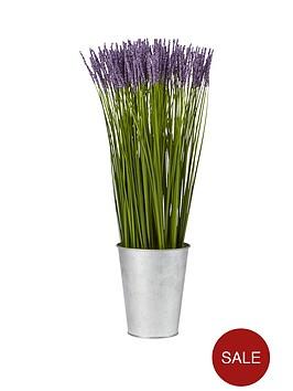 faux-lavender-in-tin