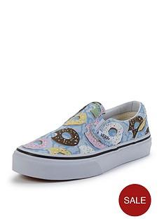 vans-vans-039classic-slip-on-donut-print-junior