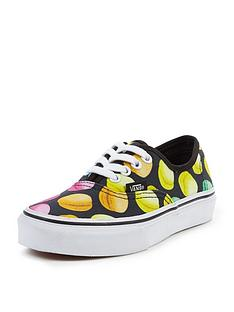 vans-vans-039authentic-macaroon-print-junior