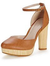 Ivy Ankle Strap Platform Shoe