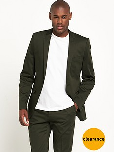 v-by-very-khaki-cotton-suit-jacket