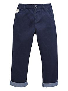 ladybird-boys-navy-turn-up-chino-trousers
