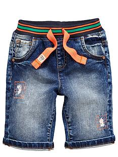 ladybird-boys-rib-waist-denim-shorts