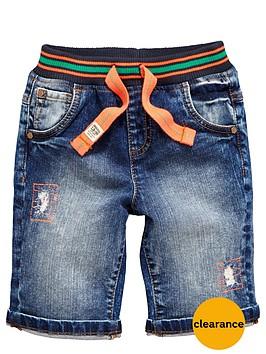 ladybird-boys-rib-waist-denim-shorts