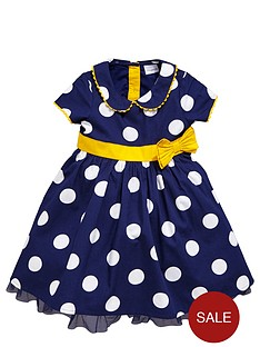 ladybird-girls-full-skirt-spotty-dress