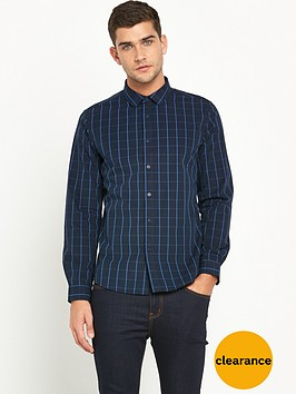v-by-very-long-sleeve-grid-check-shirt