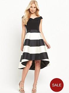 coast-mono-stripe-kate-dress