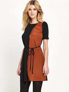oasis-colour-block-tunic-dress