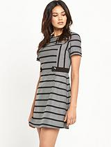 Stripe Shift Dress