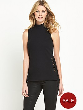 v-by-very-lace-up-side-roll-neck