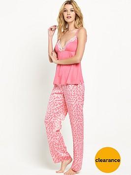 sorbet-heart-print-pyjama