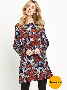 v-by-very-bell-sleeve-tunic-dressnbsp