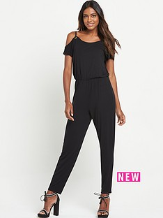 v-by-very-petite-rope-detail-jersey-jumpsuit
