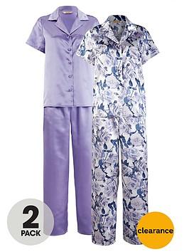 sorbet-2-pack-satin-floral-pyjamas